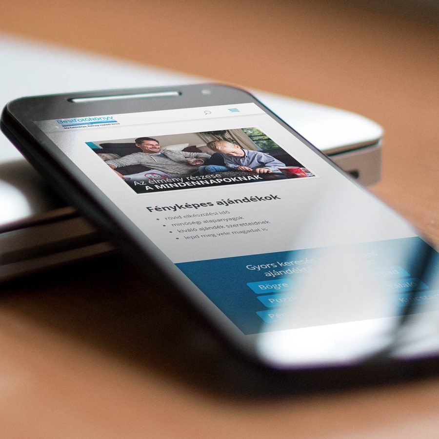 mobil nézet