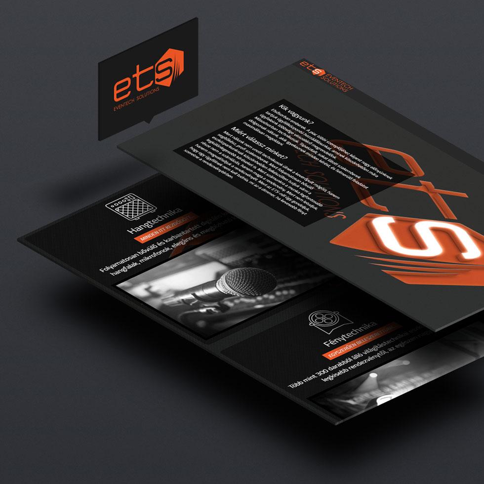 Weboldal készítés - ET-S